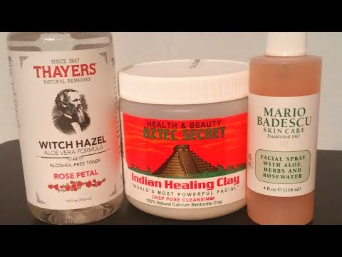 Indian Healing Clay: Live Demo & First Impressions | New Skin Care Products
