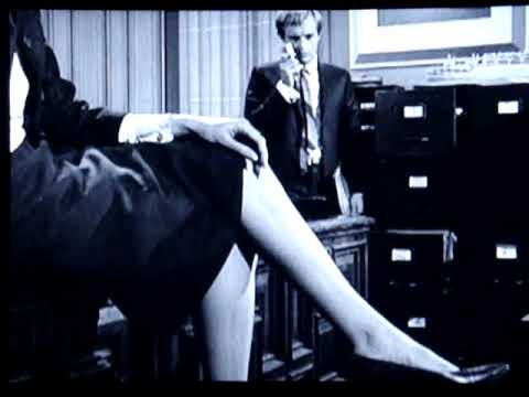 """ Nice Crossed Legs "" 2 / 2 - Secretary - Slow Motion Forward "" The Man From U.N.C.L.E. """