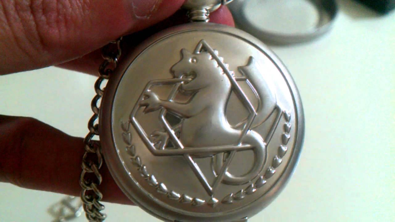 Fullmetal Alchemist Cosplay Pocket Watch - Infinity ...