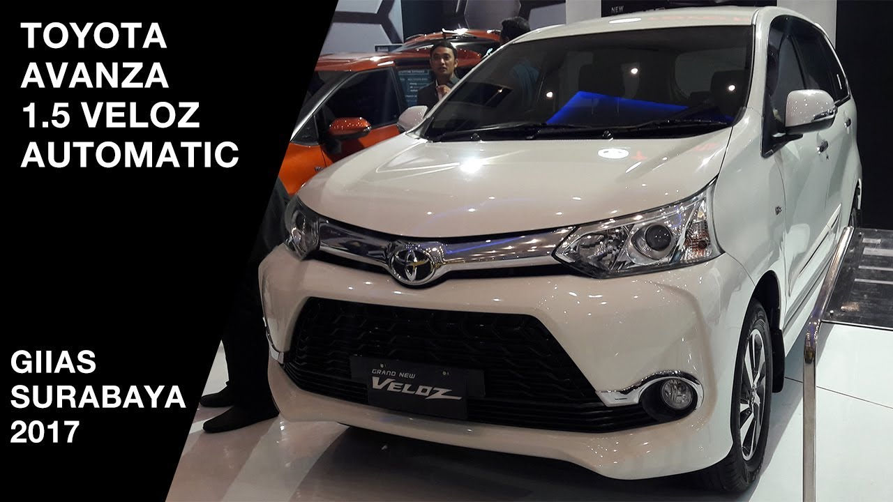 Grand New Veloz 1.5 Mt 2018 Avanza Pertama Toyota 1 5 2017 Exterior And Interior Giias Surabaya