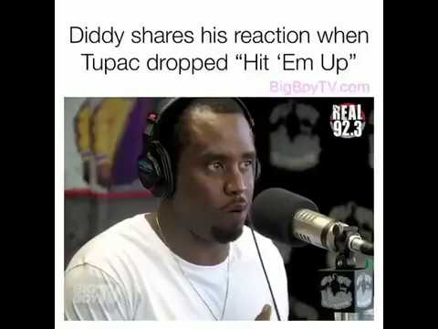 P. Diddy shares his reaction when 2Pac dropped