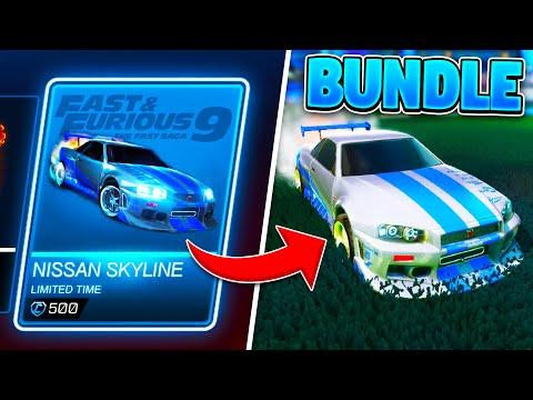 NEW NISSAN SKYLINE BUNDLE Concept Idea On Rocket League!