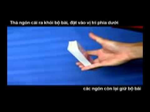 Hướng dẫn kĩ thuật xòe bài 1 tay by Võ Song Toàn