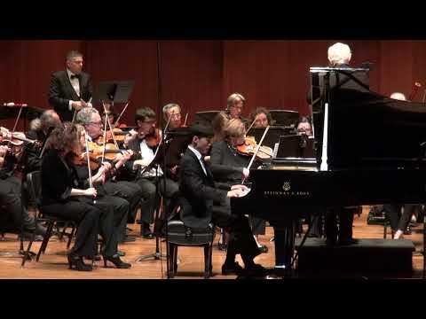 Andrew Li plays Beethoven Piano Concerto No. 3 - Part 1