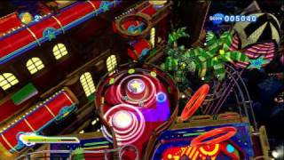 Sonic Generations- Casino Night Zone DLC First Go (Blind Playthrough)