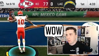 He averages 51 PPG with Patrick Mahomes, so I called him out!
