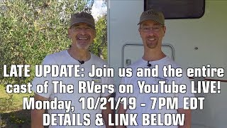 📺 The RVers TV Show Update! Discovery Has Moved Up Our Premiere! 🎥 🎬