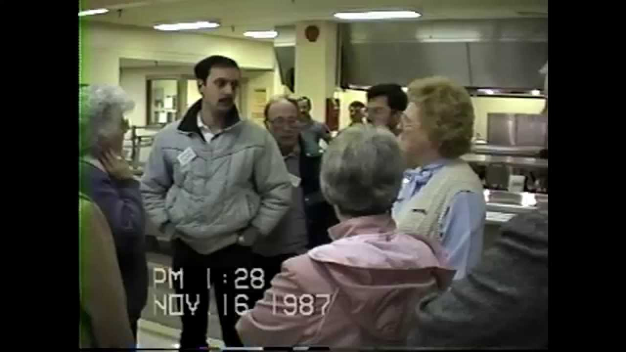 Tour of Altona Prison  11-16-87