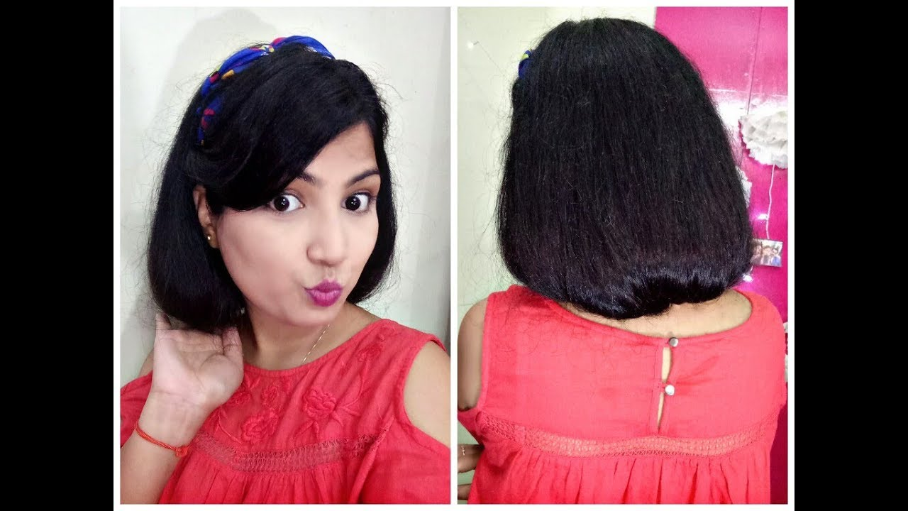 How To Make A Faux Bob How To Fake Short Hair Youtube