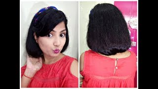 How To Make A Faux Bob How To Fake Short Hair