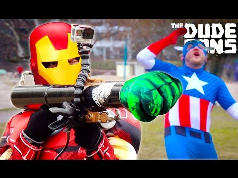 Punched By HULK Challenge! - The Dudesons