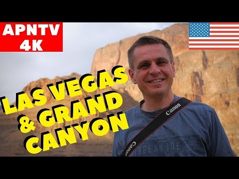 Las Vegas and Grand Canyon 4K Vlog USA 2017 Part 1