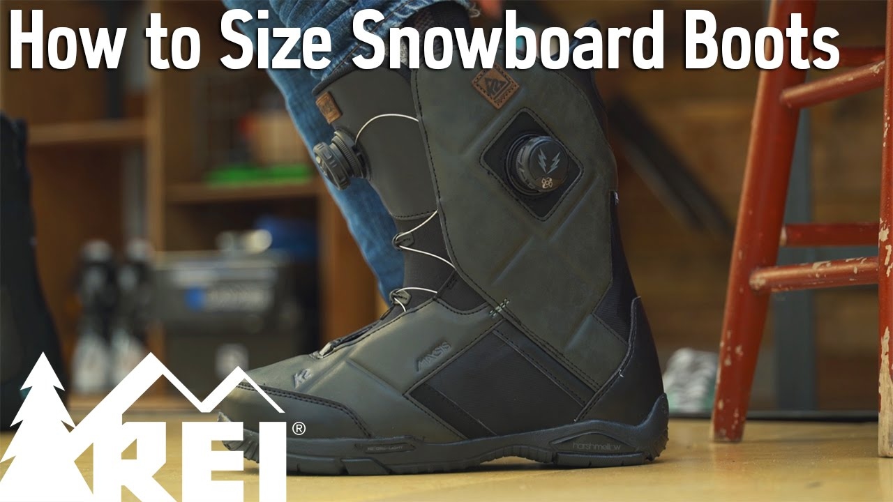 8c6b883cd2a Snowboarding: How to Size Snowboard Boots