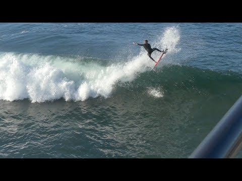 Huntington Beach, CA, Surf, 10/22/2017 - Part 4 (4K@30)