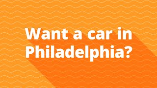 Bad credit auto financing for subprime car buyers in Philadelphia PA