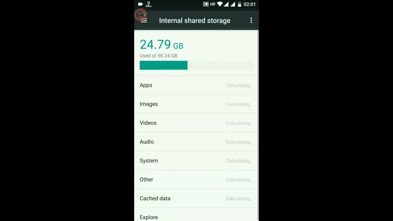 How to cleanup Mi A1 storage, download junk file,Ads hidden temporary file,  cache file,Without app
