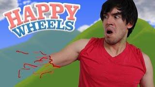 OOPS, AHÍ VA MI BRAZO! | Happy Wheels - JuegaGerman