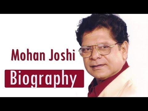 Mohan Joshi - Biography