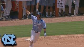Aaron Sabato 2-Run Home Run Gives UNC The Lead