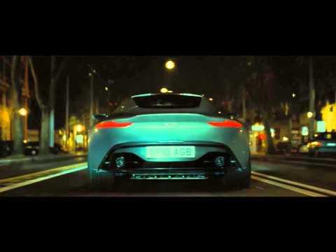 BOND TESTS THE DB10'S GADGETS
