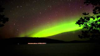 Northern Lights in Inari and Ukonjärvi
