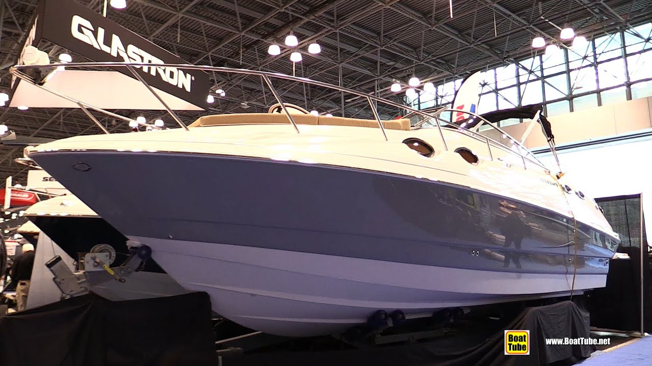 2015 glastron gs 289 motor boat walkaround 2015 new for Fishing boats nyc
