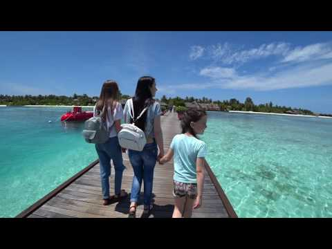 Maldives 2017 part 1. Olhuveli Beach & Spa resort. Sony FDR-X3000. DJI Mavic Pro.