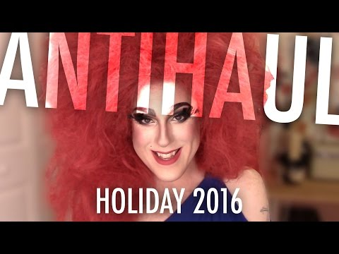 ANTI-HAUL #8 — HOLIDAY 2016: Tarteist Pro, Huda Beauty, Sephora Sets + MORE!