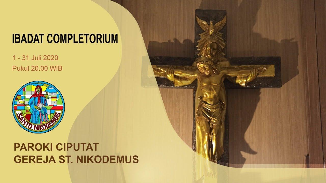 Hari Ke 5 Completorium Dari Gereja Hati Santa Perawan Maria Tak Bernoda Paroki Tangerang Youtube