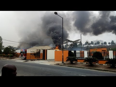 LAGOS GAS EXPLOSION CLAIMS 10 LIVES IN MAGODO