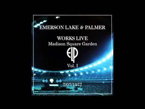 Emerson, Lake & Palmer (ELP) Live at MSG Night One 7/07/1977 With Orchestra {Better Audio}