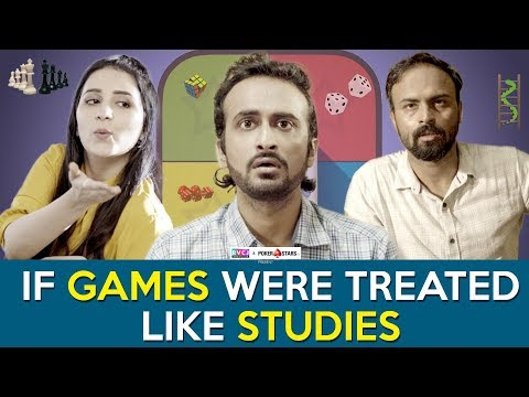If Games Were Treated Like Studies | Ft. Abhinav Anand ( Bade) | RVCJ
