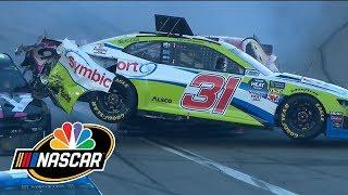 Daytona 500 pit stop crash makes for an exciting finish | NASCAR | Motorsports on NBC