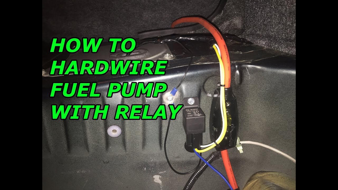240SX S14 Build EP 10 Fuel Pump Relay YouTube