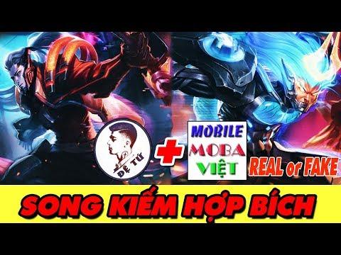 Quẩy MURAD SIÊU VIỆT Song kiếm hợp bích cùng MOBA VIỆT rank cao thủ chiến trường 2.0 ( REAL or FAKE)