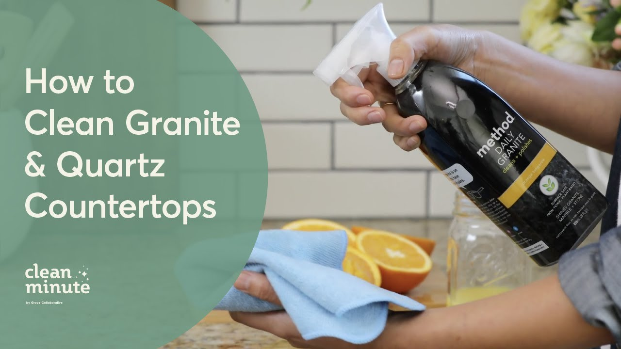 How To Clean Your Granite Quartz Countertops Kitchen