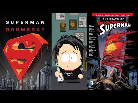 Death of Superman & Superman Doomsday DVD/Blu-Ray/Digital HD Graphic Novel & Movie Set Unboxings