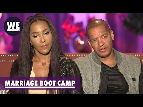 Meet Amina Buddafly & Peter Gunz | Marriage Boot Camp: Reality Stars | WE tv