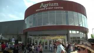 Agrium Western Event Centre 2014