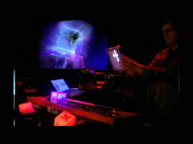 "Mark Mosher Performing ""New Heart Beating"" Live at Electro-Music Asheville 2014 Festival"
