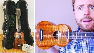 DOES A THOUSAND DOLLAR UKULELE ACTUALLY SOUND ANY GOOD? (UNBOXING, DEMO & REVIEW!)