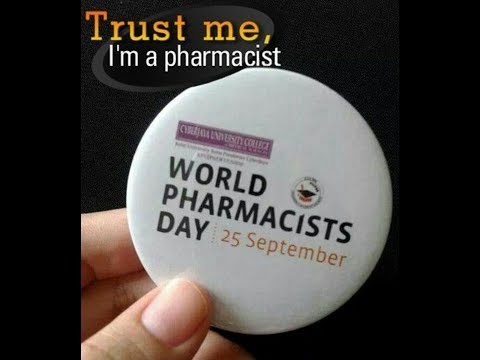 Happy world Pharmacists Day 25th September 2017 The Federation of Government Pharmacists celebrates