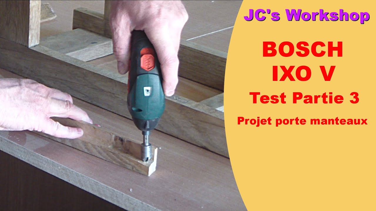 Bosch Ixo V Test : test visseuse ixo v bosch projet porte manteaux 6 youtube ~ Watch28wear.com Haus und Dekorationen