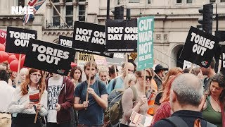 Tories Out March - We chat to Wolf Alice, Peace and the protesters about why it's time for change