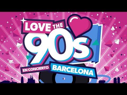 Love The 90s Barcelona Palau Sant Jordi 7/7/2017