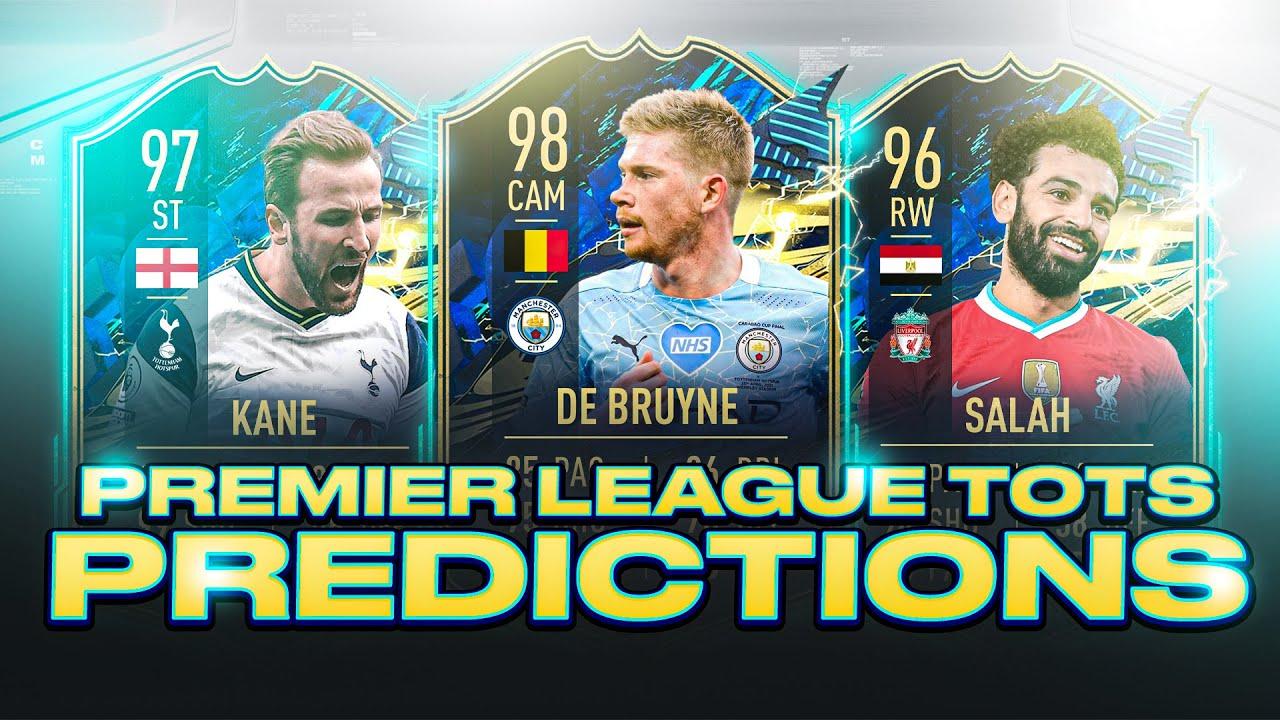 Premier League Tots Predictions Price Estimates Concept Cards Fifa 21 Ultimate Team Youtube