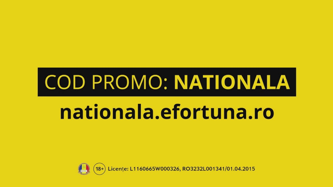 0fe3e883459a Fortuna - Cod Promo Nationala - YouTube