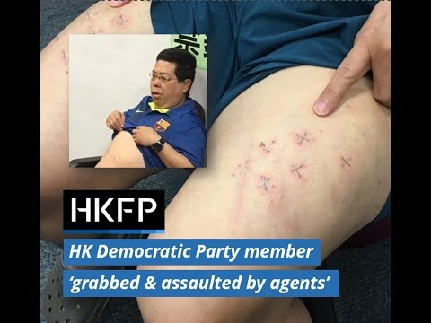 Hong Kong Democratic Party member 'grabbed, assaulted, threatened' by Chinese agents