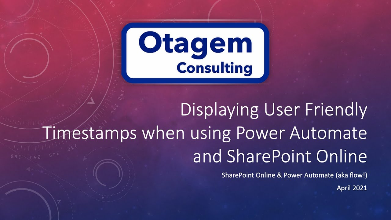 Displaying User Friendly Timestamps when working with Power Automate and SharePoint Online