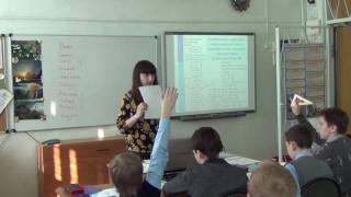 Видео урок на тему